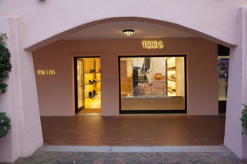 Shopping a Porto Cervo